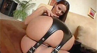 Stunning solo girl in a sexy play