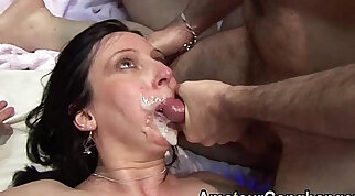 Chesty Mature - Facial Cumshot Hot