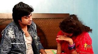 Devar Forcing Romance with Bhabhi she later starts enjoying it HD (new)