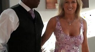 Cuckolding Brit is seen on camera by her Interracial Friend
