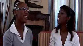 Delotta Brown and Misti Love take on a big black s