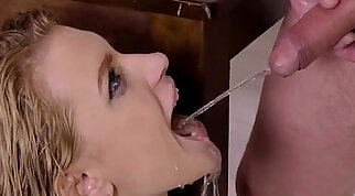 Piss in mouth Piss Drinking Video