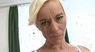 Granny blowjob interracial hardcore fucking with a big black man fucking grandma