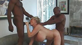Kayla Kleevage, Billy and Silvio in Fuck My Big Milk Cow Tits