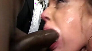 Amazing squirter that loves to swallow sperm