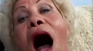 Chew with Hot Birthday Granny POV