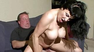 Busty Milf Sucks Cock And Takes Facial
