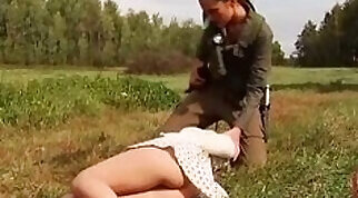 Classy lesbian slave tease with cop who pays for your noisy time