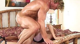 brunette with small tits that are large gets nailed
