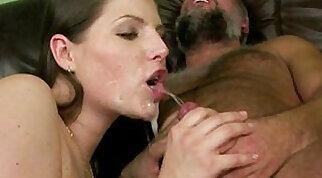 Cum-thirsty needs intense sucking and fucking