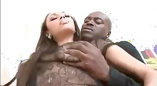 Crazy cocksucking lady persuaded to latino div