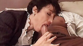 fine little MILFs are getting their pussies licked out